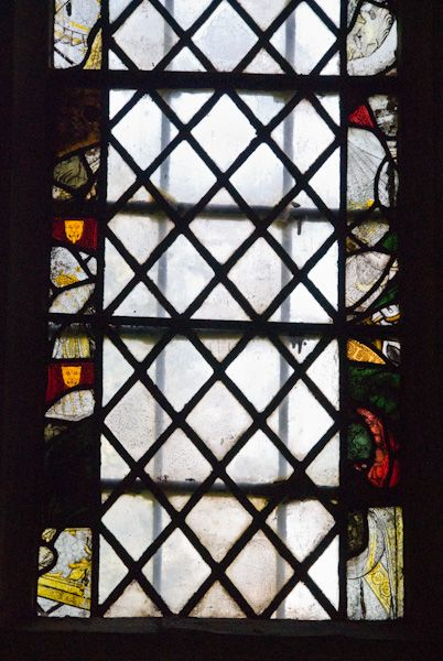 Chilham, St Mary photo, 15th century stained glass