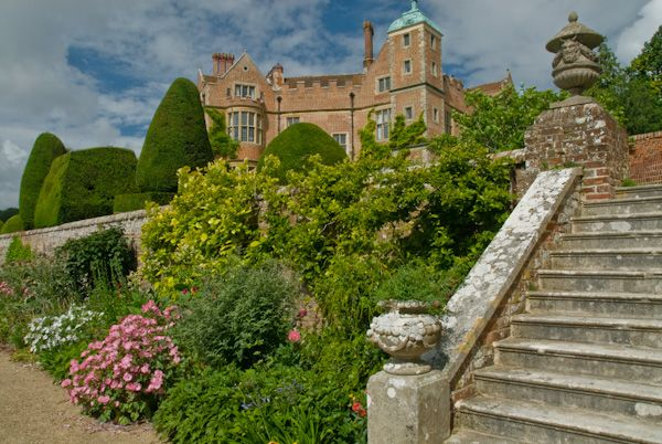 Chilham photo, Chilham Castle from the terraced garden