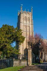 Chipping Campden, St James Church, The striking Perpendicular tower