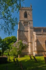 Chipping Norton, St Mary's Church, West tower