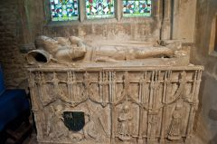 Chipping Norton, St Mary's Church, 16th century Croft tomb