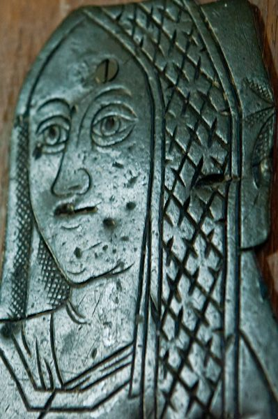 Chipping Norton, St Mary's Church photo, Medieval brass