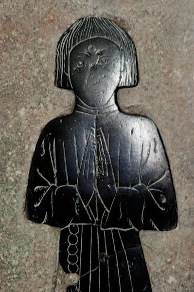 Chipping Norton, St Mary's Church photo, Medieval brass 2