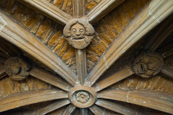 Chipping Norton, St Mary's Church photo, Porch vaulting