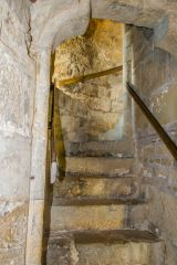 Chirk Castle, A spiral stair inside the castle walls