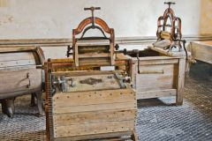 Chirk Castle, The restored laundry