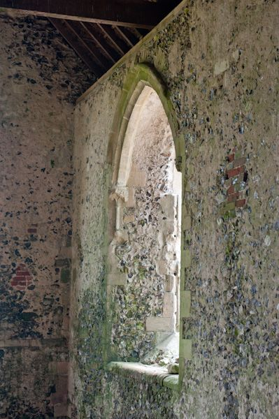 Chisbury Chapel photo, Medieval window