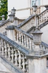 Chiswick House, The entrance staircase