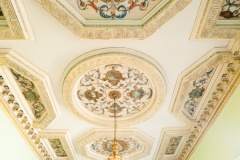 Chiswick House ceiling