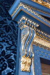 Gilding detail, Blue Velvet Room