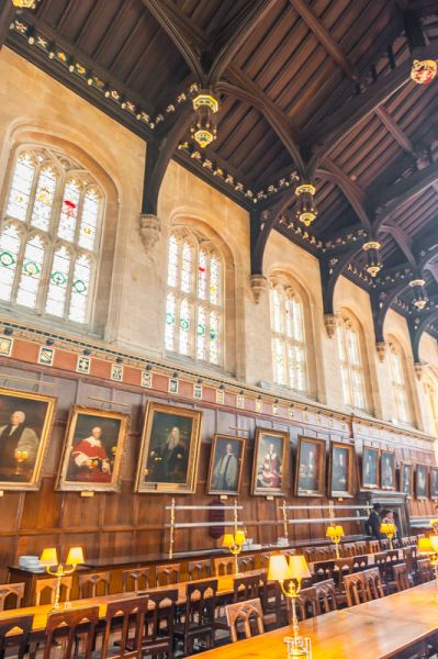 photo, The dining hall - straight from Hogwarts