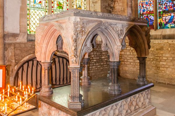 Oxford, Christ Church Cathedral photo, St Fridewide's shrine