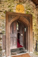 The south doorway and Anglo-Norman carving
