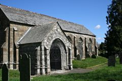 The south porch of Linkinhorne church (c) Tony Atkin