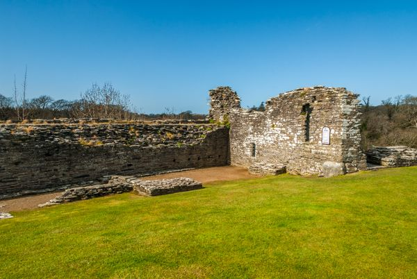Cilgerran Castle photo, Inside the inner ward