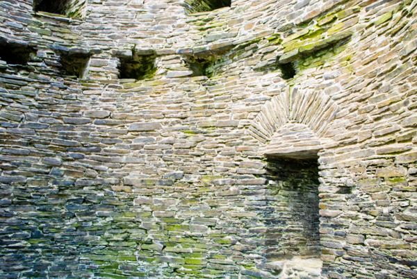 Cilgerran Castle photo, Inside the west tower