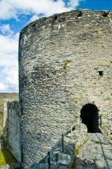 Cilgerran Castle, Atop the battlements
