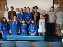 Volunteers in original cinema uniforms (c) Cinema Museum