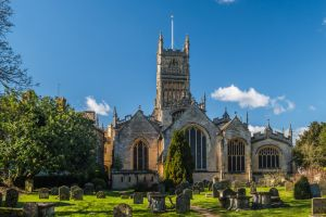 Cirencester parish church wedding