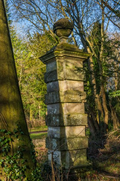 Cirencester Park photo, One of several Stone Pillars along Broad Ride