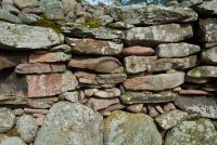 Cairn wall stonework