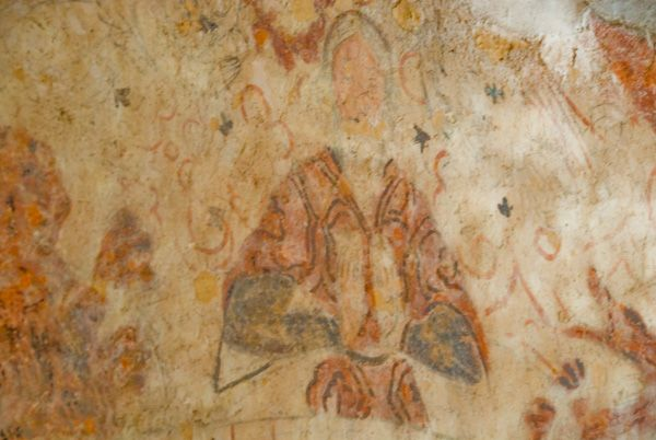 Cleeve Abbey photo, Wall paintings in the 'Painted Chamber'