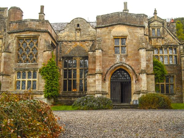 Clevedon Court photo, The main house entrance