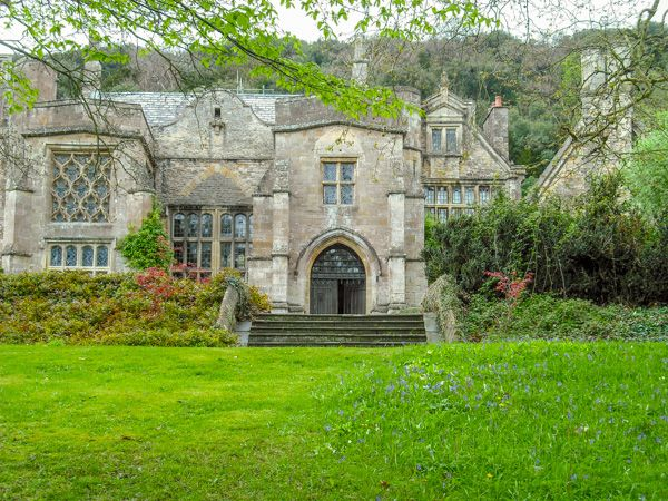 Clevedon Court photo, The house from the gardens