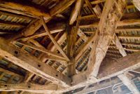 Clifton Hall, Timber roof