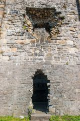 The ruined keep doorway