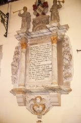 Memorial to Mary Cary, d. 1700