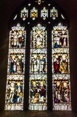 The east window, by CE Kempe
