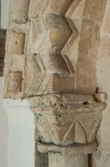 Norman capital, south door