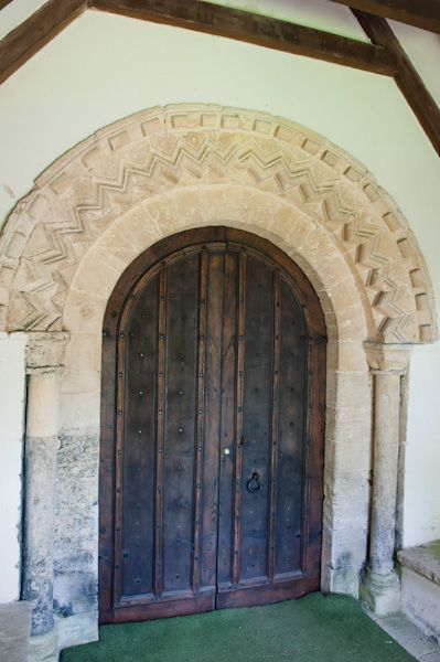 Coates, St Matthew's Church photo, Norman doorway