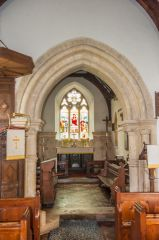 Codford St Mary Church, The 13th century chancel arch