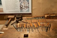 The Saunders Collection of woodworking tools