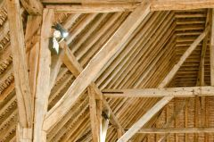 Roof timbers detail