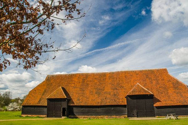 Coggeshall Grange Barn photo, The barn exterior