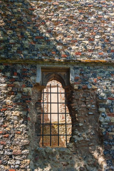 St John's Abbey Gate photo, Ruined south east window