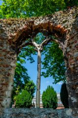 Medieval window tracery