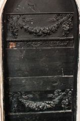 17th century vestry door panels