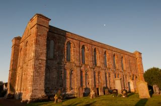 Coldingham Priory, The priory church