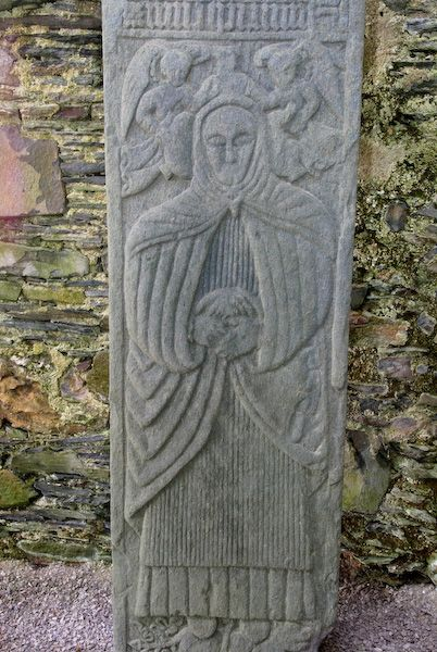 Isle of Colonsay photo, Medieval grave slab