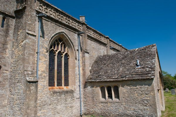 Combe Longa, St Laurence Church photo, South porch