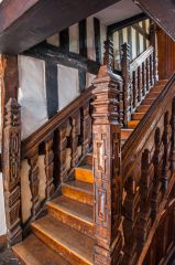 The Jacobean staircase