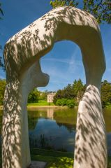 Compton Verney House, 'The Arch' by Henry Moore