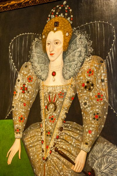 Compton Verney House photo, Portrait of Elizabeth I in the British Portrait Gallery