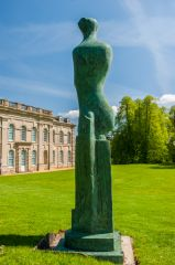 Compton Verney House, Upright Motive No. 9 by Henry Moore