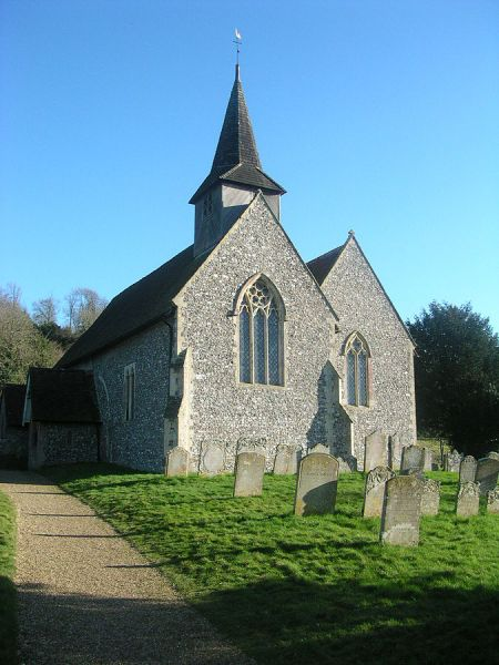 Compton photo, St Mary's church (c) Charlesdrakew