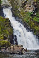 Conwy Falls, The waterfall 2
